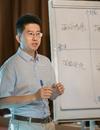 """劉方老師_由學員提出問題并解決問題""""的理念"""
