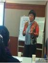 張嵐老師_根據授課內容以及學員的特點,靈活運用4種教學方法分別為講授,顧問,引導和教練進行授課.